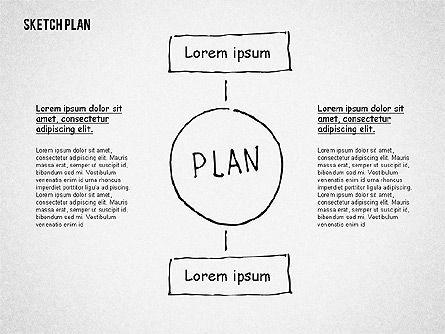 Business Sketch Plan, Slide 3, 02265, Business Models — PoweredTemplate.com
