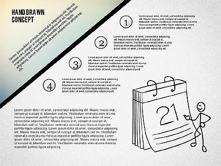 Presentation Concept with Stickman, Slide 2, 02266, Presentation Templates — PoweredTemplate.com
