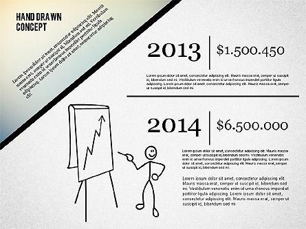 Presentation Concept with Stickman, Slide 4, 02266, Presentation Templates — PoweredTemplate.com