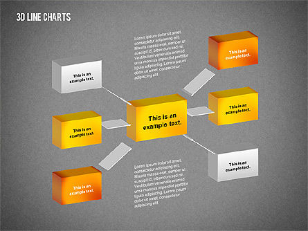3D Charts Toolbox, Slide 13, 02267, Business Models — PoweredTemplate.com