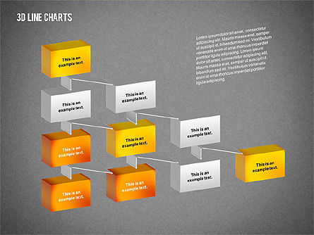 3D Charts Toolbox, Slide 16, 02267, Business Models — PoweredTemplate.com