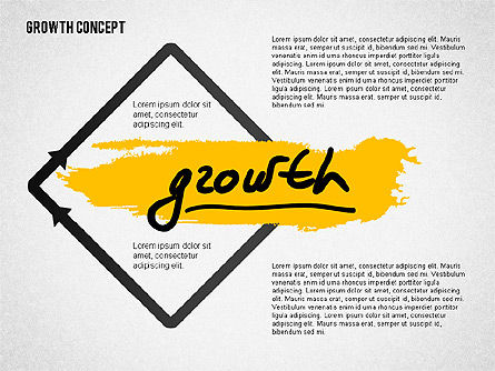 Presentation Templates: Growth Concept Presentation Template #02269