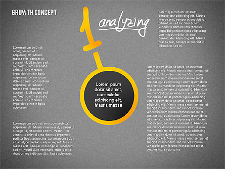 Growth Concept Presentation Template, Slide 11, 02269, Presentation Templates — PoweredTemplate.com