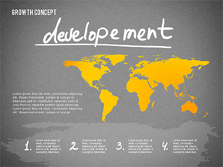 Growth Concept Presentation Template, Slide 15, 02269, Presentation Templates — PoweredTemplate.com