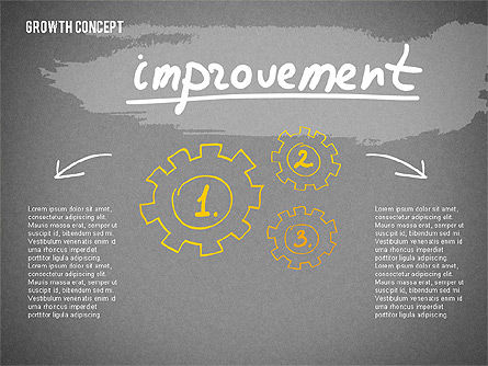 Growth Concept Presentation Template, Slide 16, 02269, Presentation Templates — PoweredTemplate.com
