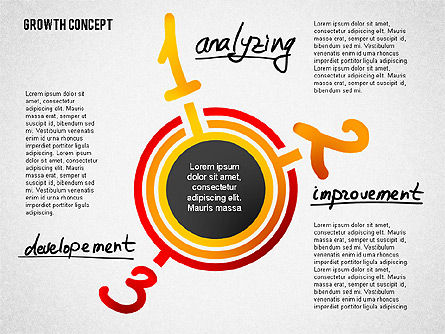 Growth Concept Presentation Template, Slide 5, 02269, Presentation Templates — PoweredTemplate.com