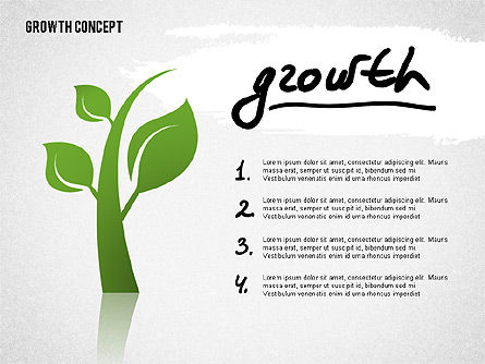 Growth Concept Presentation Template, Slide 6, 02269, Presentation Templates — PoweredTemplate.com