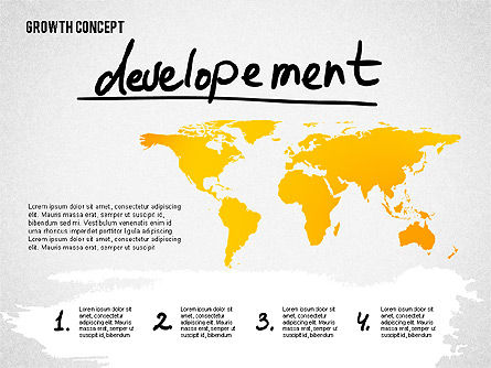 Growth Concept Presentation Template, Slide 7, 02269, Presentation Templates — PoweredTemplate.com