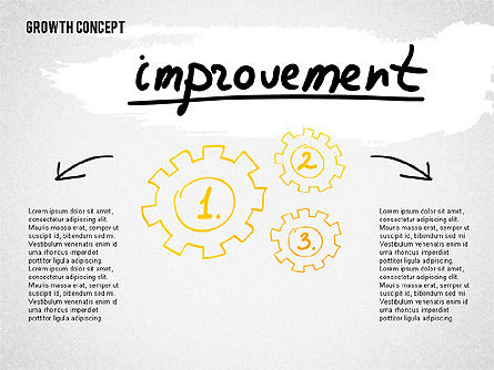 Growth Concept Presentation Template, Slide 8, 02269, Presentation Templates — PoweredTemplate.com