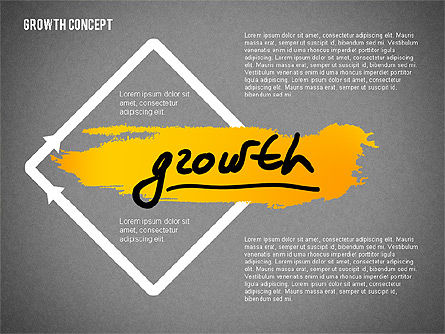 Growth Concept Presentation Template, Slide 9, 02269, Presentation Templates — PoweredTemplate.com