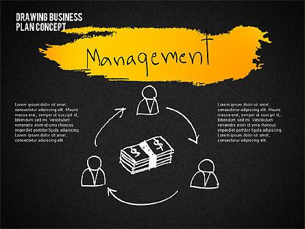 Business Plan Concept Sketch, Slide 10, 02270, Presentation Templates — PoweredTemplate.com