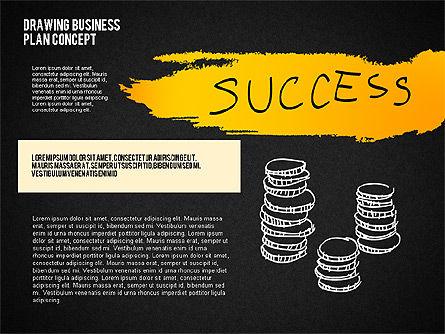 Business Plan Concept Sketch, Slide 11, 02270, Presentation Templates — PoweredTemplate.com