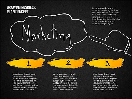 Business Plan Concept Sketch, Slide 12, 02270, Presentation Templates — PoweredTemplate.com