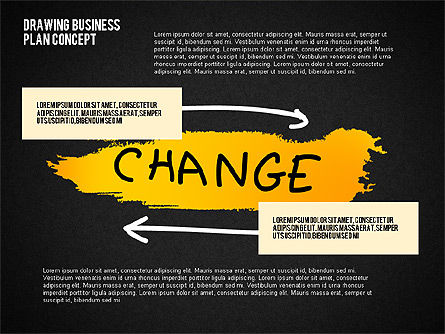 Business Plan Concept Sketch, Slide 13, 02270, Presentation Templates — PoweredTemplate.com