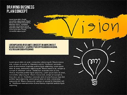 Business Plan Concept Sketch, Slide 14, 02270, Presentation Templates — PoweredTemplate.com