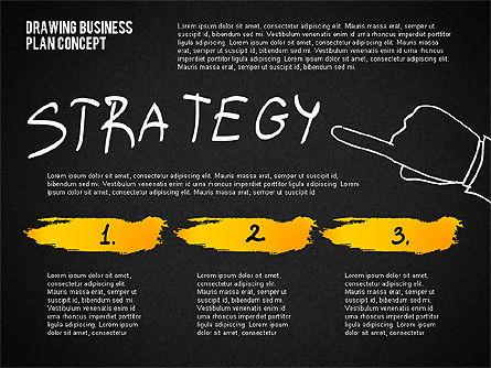Business Plan Concept Sketch, Slide 15, 02270, Presentation Templates — PoweredTemplate.com