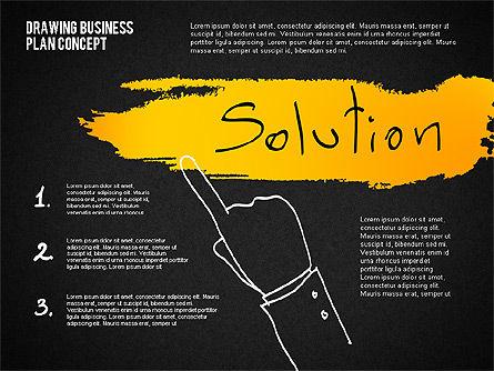 Business Plan Concept Sketch, Slide 16, 02270, Presentation Templates — PoweredTemplate.com