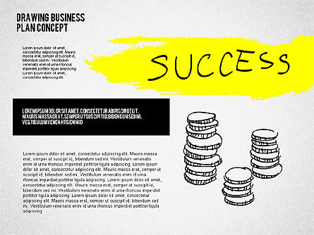 Business Plan Concept Sketch, Slide 3, 02270, Presentation Templates — PoweredTemplate.com