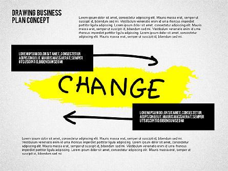 Business Plan Concept Sketch, Slide 5, 02270, Presentation Templates — PoweredTemplate.com