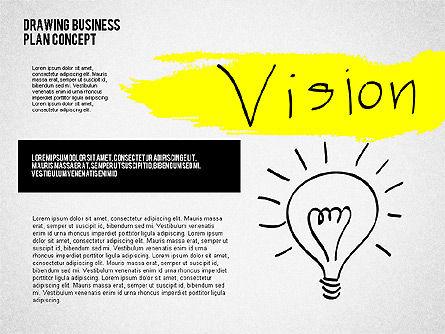 Business Plan Concept Sketch, Slide 6, 02270, Presentation Templates — PoweredTemplate.com