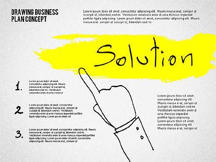 Business Plan Concept Sketch, Slide 8, 02270, Presentation Templates — PoweredTemplate.com
