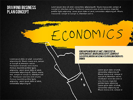 Business Plan Concept Sketch, Slide 9, 02270, Presentation Templates — PoweredTemplate.com