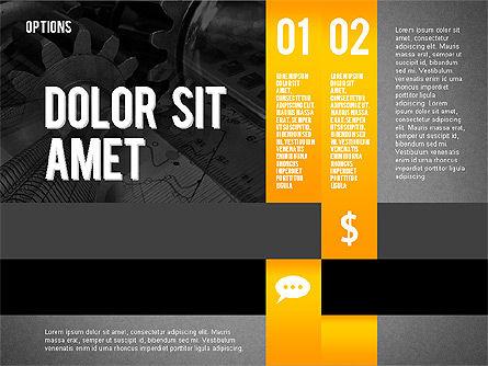 Options Presentation Template, Slide 10, 02273, Presentation Templates — PoweredTemplate.com