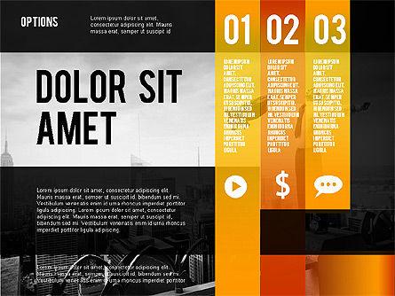 Options Presentation Template, Slide 15, 02273, Presentation Templates — PoweredTemplate.com