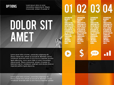Options Presentation Template, Slide 16, 02273, Presentation Templates — PoweredTemplate.com
