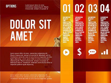 Options Presentation Template, Slide 8, 02273, Presentation Templates — PoweredTemplate.com