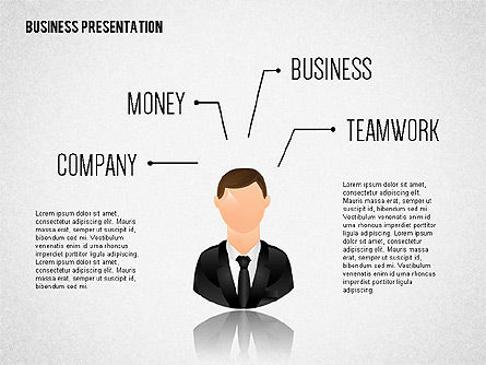 Staff Presentation Template, 02274, Presentation Templates — PoweredTemplate.com