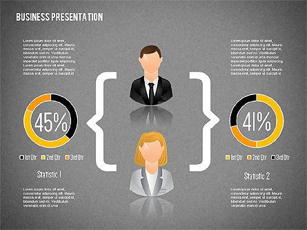 Staff Presentation Template, Slide 10, 02274, Presentation Templates — PoweredTemplate.com
