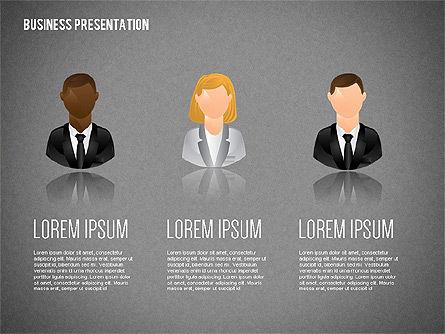 Staff Presentation Template, Slide 12, 02274, Presentation Templates — PoweredTemplate.com
