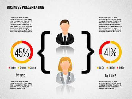 Staff Presentation Template, Slide 2, 02274, Presentation Templates — PoweredTemplate.com