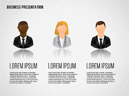 Staff Presentation Template, Slide 4, 02274, Presentation Templates — PoweredTemplate.com