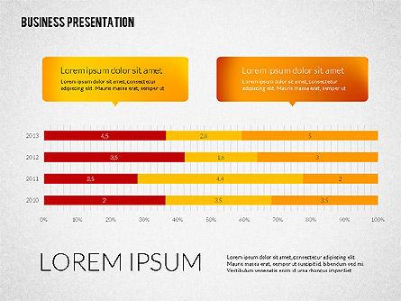 Business Presentations with Flat Shapes, Slide 7, 02275, Presentation Templates — PoweredTemplate.com