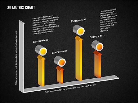 3D Matrix Chart, Slide 12, 02276, Matrix Charts — PoweredTemplate.com