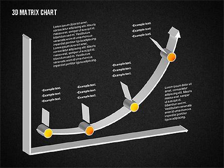 3D Matrix Chart, Slide 14, 02276, Matrix Charts — PoweredTemplate.com