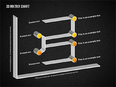3D Matrix Chart, Slide 16, 02276, Matrix Charts — PoweredTemplate.com