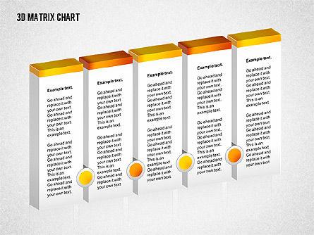 3D Matrix Chart, Slide 2, 02276, Matrix Charts — PoweredTemplate.com