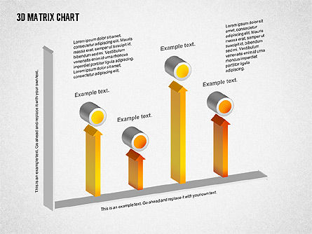 3D Matrix Chart, Slide 4, 02276, Matrix Charts — PoweredTemplate.com