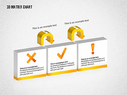 3D Matrix Chart, Slide 7, 02276, Matrix Charts — PoweredTemplate.com