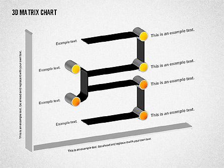 3D Matrix Chart, Slide 8, 02276, Matrix Charts — PoweredTemplate.com