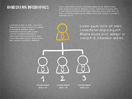Presentation with Hand Drawn Shapes, Slide 15, 02280, Presentation Templates — PoweredTemplate.com