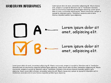 Presentation with Hand Drawn Shapes, Slide 4, 02280, Presentation Templates — PoweredTemplate.com