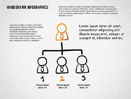 Presentation with Hand Drawn Shapes, Slide 7, 02280, Presentation Templates — PoweredTemplate.com