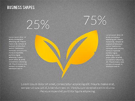 Growth Ideas Shapes, Slide 12, 02282, Shapes — PoweredTemplate.com