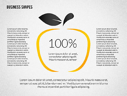 Growth Ideas Shapes, Slide 2, 02282, Shapes — PoweredTemplate.com