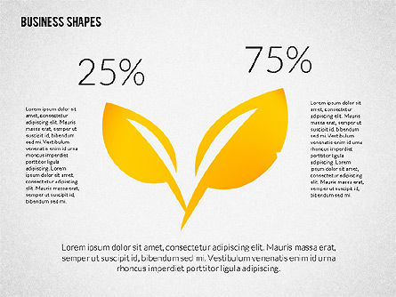 Growth Ideas Shapes, Slide 4, 02282, Shapes — PoweredTemplate.com