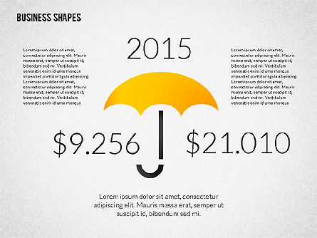 Growth Ideas Shapes, Slide 7, 02282, Shapes — PoweredTemplate.com
